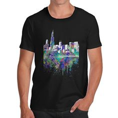 Chicago Skyline I...  http://twistedenvy.com/products/chicago-skyline-ink-splats-mens-t-shirt?utm_campaign=social_autopilot&utm_source=pin&utm_medium=pin   Shop for Amazing Art  Show your Creative side.  #Twistedenvy
