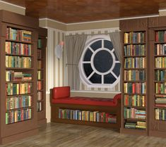 INT. READING CORNER - NIGHT Episode Interactive Backgrounds, Episode Backgrounds, Anime Backgrounds Wallpapers, Anime Scenery Wallpaper, Scenery Background, Background Drawing, Cartoon Background, Casa Anime, Bedroom Drawing