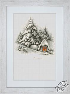 Winter Landscape - Cross Stitch Kits by Luca-S - B2279