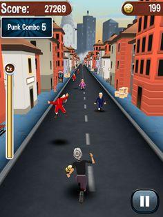 Angry Gran Run App by Aceviral Gaming Studios