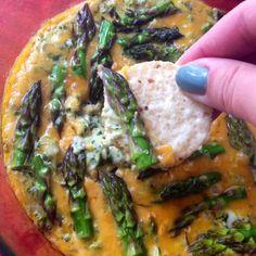 Spinach and Asparagus dip
