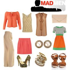 Mad Men, created by chloeturner18 on Polyvore