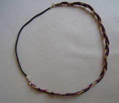 Avec cette technique de headband vous pouvez imaginer toutes sortes de modèles, en y intégrant des perles, de la chaîne, des estampes…