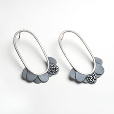 Stellar Gumdrop Earrings by Beth Pohlman