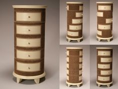 Jason Schneider makes amazing, curious, innovative, practical furniture designs from corrugated cardboard.