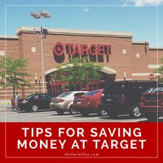 Tips For Saving Money at Target. If you say you don't need this you're lying to yourself. It might help if i stop going like every night