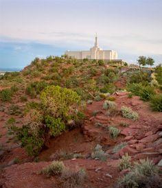 Robert A. Boyd Fine Art. Snowflake Arizona Temple of The Church of Jesus Christ of Latter-day Saints. #LDS #Mormon