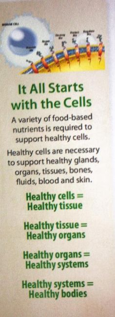 www.Mannatech.com Healthy cells = healthy you Talk to me about it