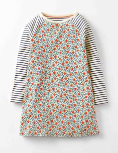 Jersey Swing Dress 33457 Dresses at Boden