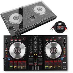 Pioneer DDJ-SB2 Performance DJ Controller & DeckSaver Polycarbonate Protective Cover w/ Pig Hog Cable - http://djsoftwarereview.com/most-popular-dj-mixers/pioneer-ddj-sb2-performance-dj-controller-decksaver-polycarbonate-protective-cover-w-pig-hog-cable/ #DJMixer, #DJequipment, #PioneerDJ, #Music Mixer, #DJApp, #DJSoftware, #DJTurntables, #DJLighting