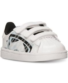 d1f7865052fe33 adidas Toddler Boys  Superstar Star Wars Stormtrooper Casual Sneakers from  Finish Line Kids - Finish Line Athletic Shoes - Macy s