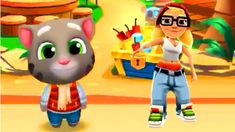 DODGE the oncoming trains! Help Jake, Tricky & Fresh escape from the grumpy Inspector and his dog. ★ Grind trains with your cool cre. My Talking Tom, Funny Songs, Subway Surfers, Nursery Rhymes, Toms, Fictional Characters, Preschool, Fantasy Characters