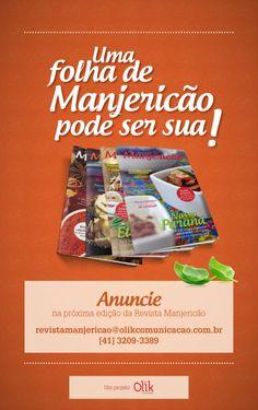 Designed by Lais Pancote :: ADVERTISING :: MANJERICÃO :: OLIK COMUNICAÇÃO :: freelancer :: mar/2014