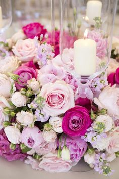 Lakeside Love   Pink and Blush Flowers   Cranberry Blue Weddings
