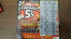 Todays win from QT 6/33/2015 Fireball 5s