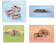 Kimberly Kelly Santini  Paintings that make your mouth water