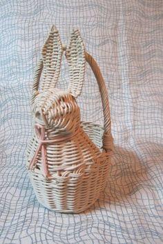 White Rabbit Woven Basket