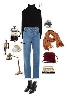 """""""these days"""" by clarulven ❤ liked on Polyvore featuring Ralph Lauren, Chloé, Maison Margiela, Frédérique Constant, Primula, The Row, Acne Studios and Nordal"""