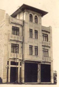 Kentin İlk Özel Hastahanesi Olan Ankara Sıhhat Yurdu - 1928(Zafer Meydanında, Atatürk Bulvarı ile Ihlamur Sokağın Kesiştiği Köşede Bulunuyordu).