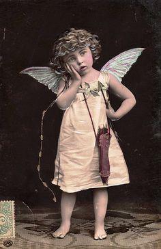Vintage Postcard ~ Cupid