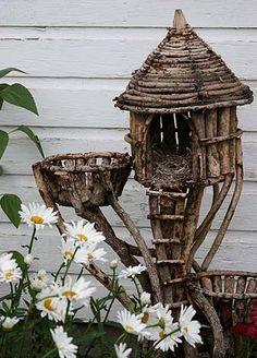 Wow, auch Feen brauchen ihren Platz im Garten ;)