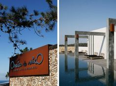"""The design """"Areias Do Seixo"""" hotel is A-dos-Cunhados, Portugal, near the beach in Santa Cruz This is a beautiful place in a beautiful setting to relax Design Hotel, Interior And Exterior, Interior Design, Hotels, Beautiful Places, Amazing Places, The Good Place, 1, Architecture"""