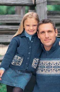 Child's Snowflake Sweater