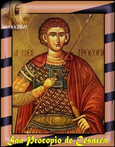 Leamos la BIBLIA: San Procopio de Cesarea