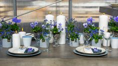 Slik lager du et lekkert konfirmasjonsbord - Fædrelandsvennen Flower Decorations, Table Decorations, Deco Table, Wedding Table, Tablescapes, Diy And Crafts, Flowers, Home Decor, Slik
