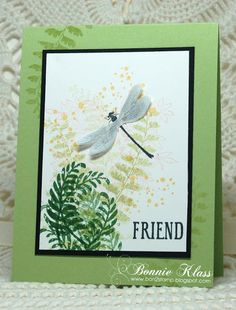 Stamping with Klass: Awesomely Artistic Friend