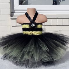 Halloween+costume+Bee+tutu+dress+Queen+Bee++by+ThemeCostumesUK,+£18.00