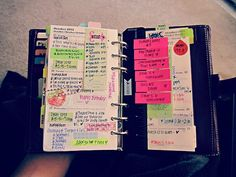 organization. I love it . And I can't live without lists. They keep me sane and OCD under control! M.W