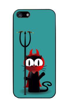 """Funda d'Iphone 4 i 5 """"Mixu Diable"""" en diversos colors per $19,90€ a http://www.latostadora.com/mixu/dibujos/170027"""