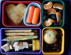 Chicken Skewers and Pretzel Rods Laptop Lunches Bento
