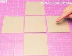 como-hacer-una-carta-en-una-caja Diy And Crafts, Gifts, Diana, Packing, Album, Ideas, Amor, Paper, Frases