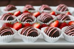 Strawberry Cheesecake Truffles  These look delicious!