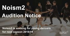Audition Noism2 Apprenticeship Positions