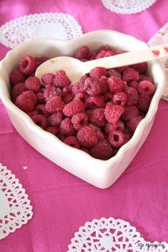 valentine heart dish