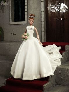 Our goal is to keep old friends, ex-classmates, neighbors and colleagues in touch. Barbie Bridal, Barbie Wedding Dress, Wedding Doll, Barbie Gowns, Barbie Dress, Barbie Clothes, Wedding Dresses, Barbie Fashionista, Barbie Style