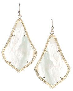 Alexandra Earrings in Ivory Pearl - Kendra Scott Jewelry