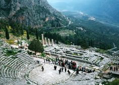 Delphi, Greece One of the most stunning, special places I've ever been.