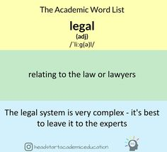 What Is The Academic Word List? The Academic Word List is a list of 570 of the most important words that students needs to know to be successful in their university studies. Forget IELTS or TOEFL lists – if you want to succeed in your university/college study then these are the words you need. Although they'll definitely help you get your scores up for those exams too! #english #idiom #esl #efl #learnenglish #英語 #vocabulary #collegeenglish #universityenglish #foreignlanguages #外国語
