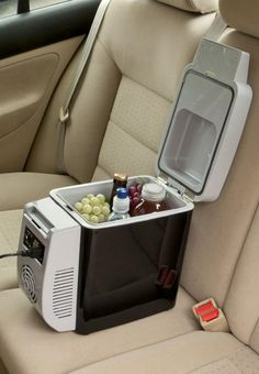 The Wagan 2577 Personal Fridge/Warmer is a life saver during a road trip.