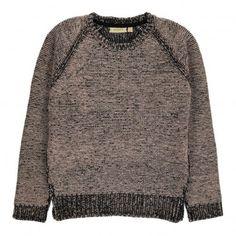 Dionne Lurex Pullover Light grey  Soft Gallery