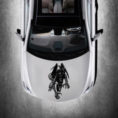 CAR HOOD VINYL STICKER DECALS GRAPHICS DESIGN ART DRAGON ANIMAL TATTOO SV4864