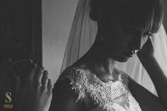 Nastrojowe zdjęcia ślubne z przygotowań Kasi