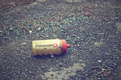 could be used in a publication about littering/recycling issues.