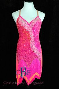 Rent Ballroom Dresses like this one from Classic Ballroom Elegance Rhythm Dance Dress Rental BRB238 is also available for Sale at www.cberentals.com  Classic Ballroom Elegance Dresses command an Encore Ballroom performance every time!