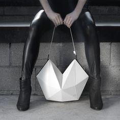 FINELL Bone leather RAE shoulder bag