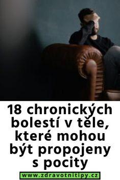 18 chronických bolestí v těle, které mohou být propojeny s pocity Movie Posters, Movies, Medicine, Psychology Programs, Films, Film Poster, Cinema, Movie, Film